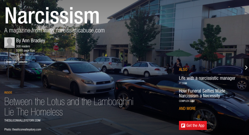 narcissism the magazine