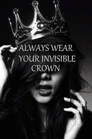 Wear a crown to ward off a narcissist.